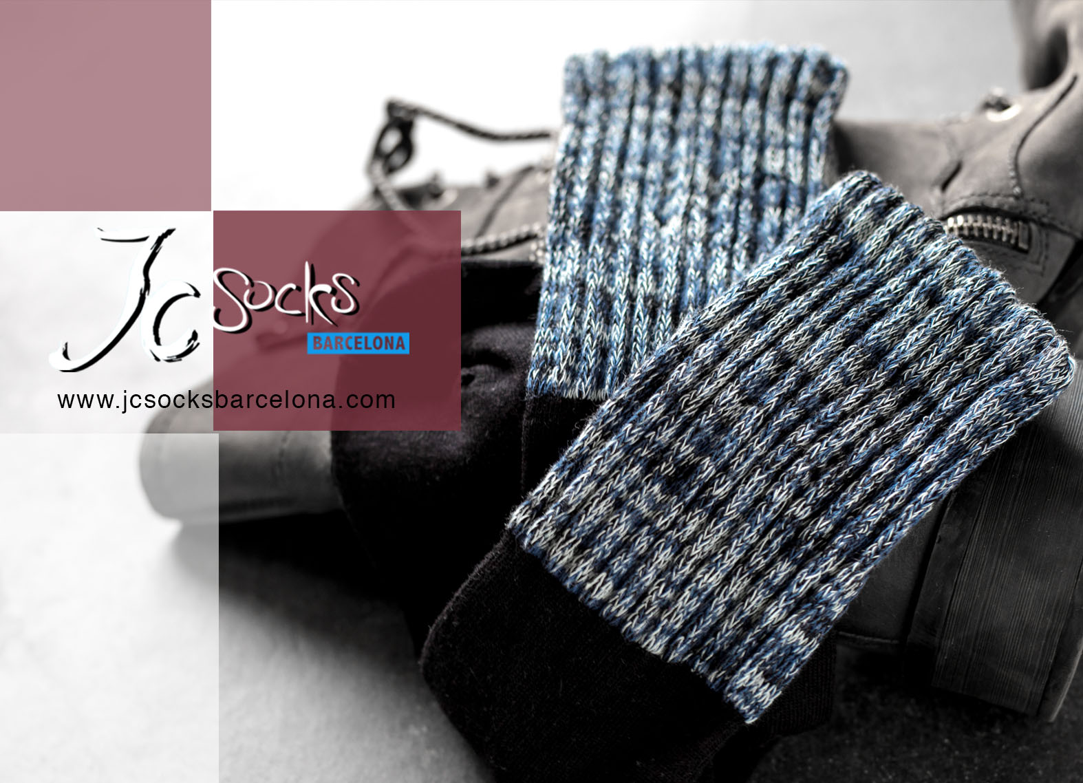 Calcetines colores invierno mujer
